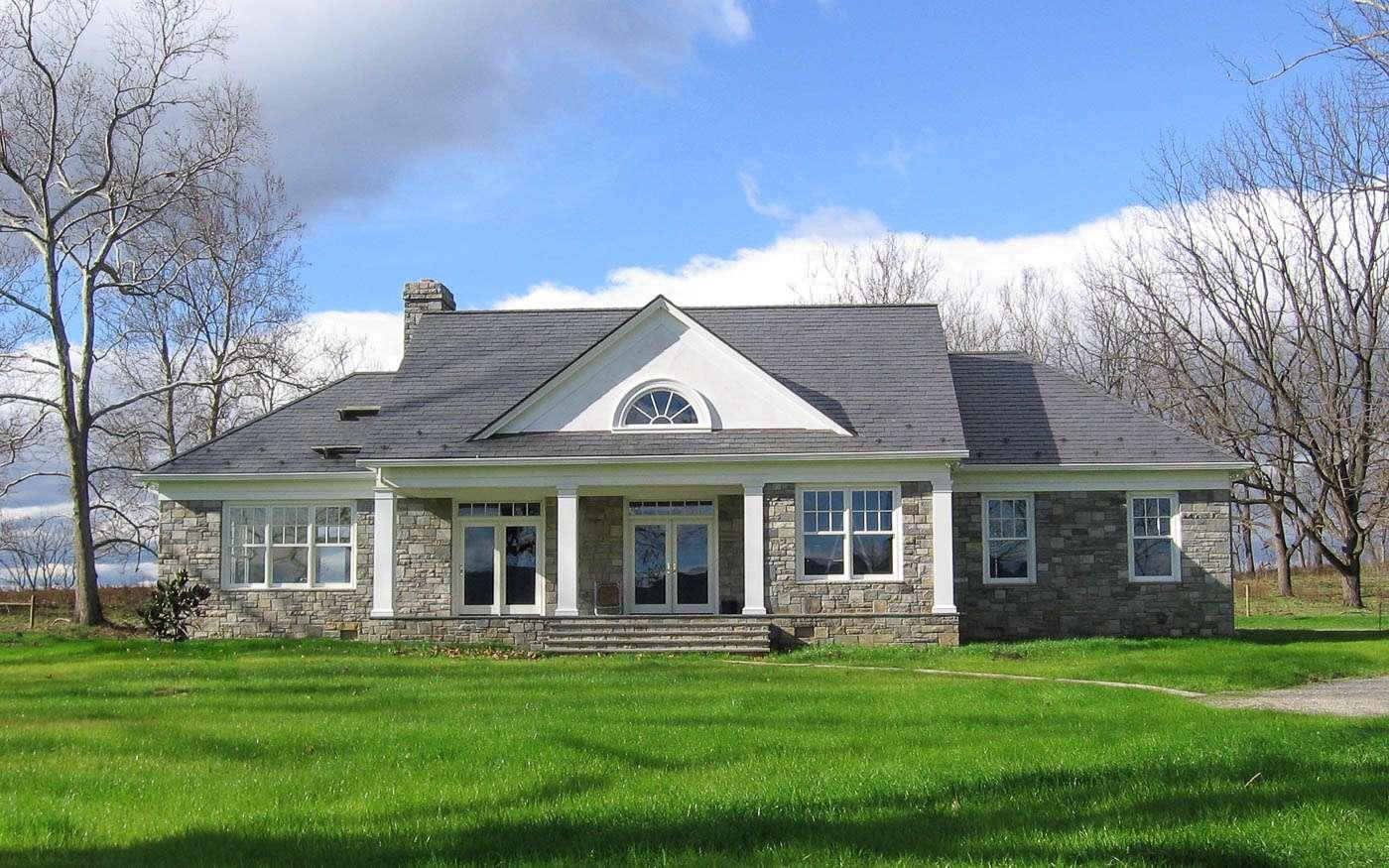Shenandoah Stone Cottage Front 1