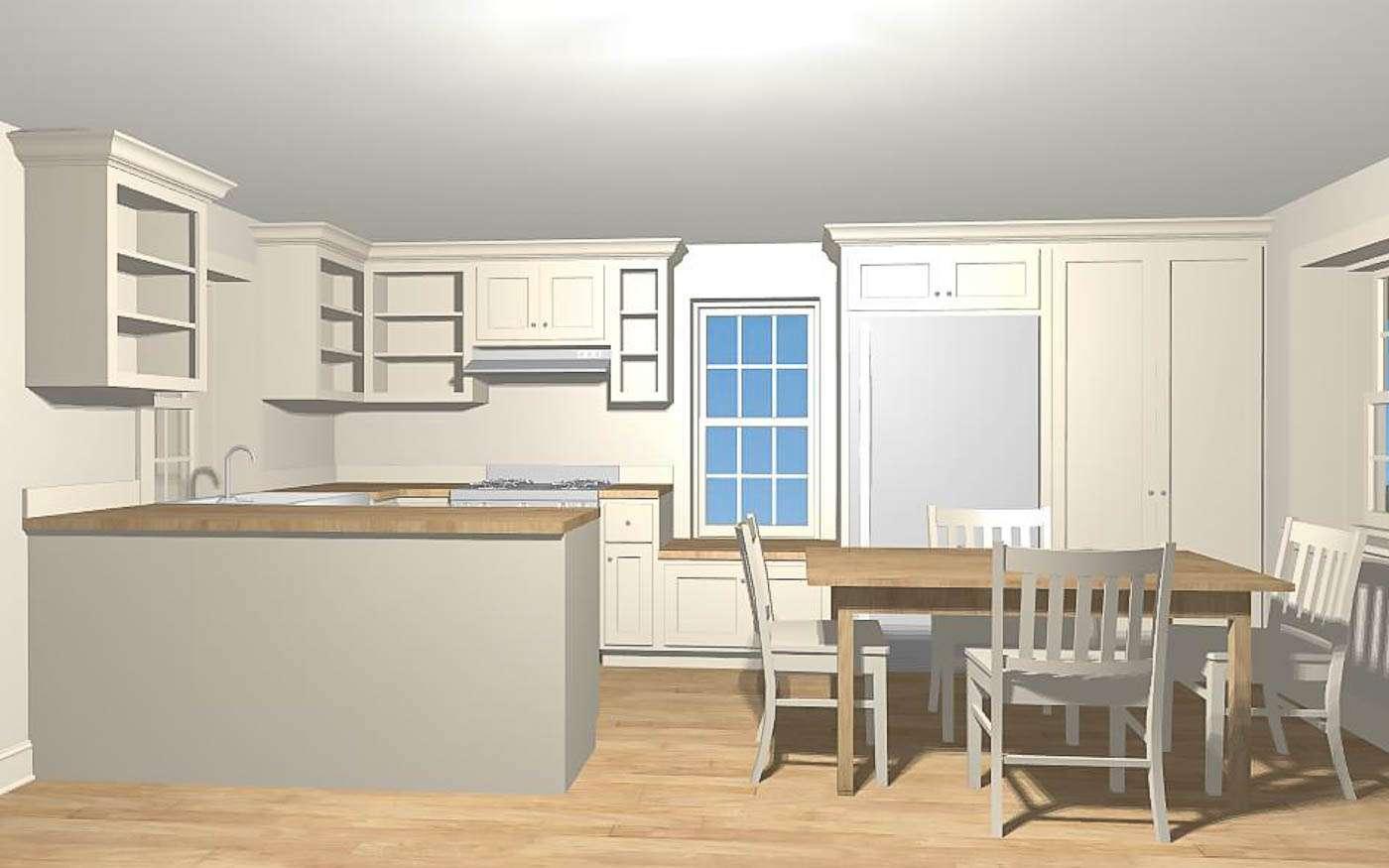Bolivar Artist's Cottage Kitchen