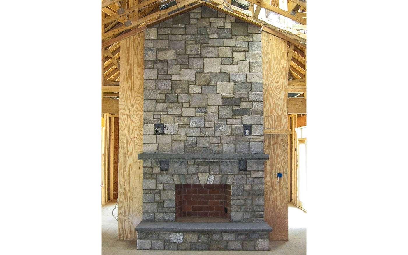Shenandoah Stone Cottage Construction 9