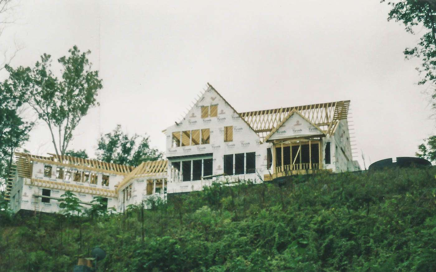 Potomac Lodge Construction 6