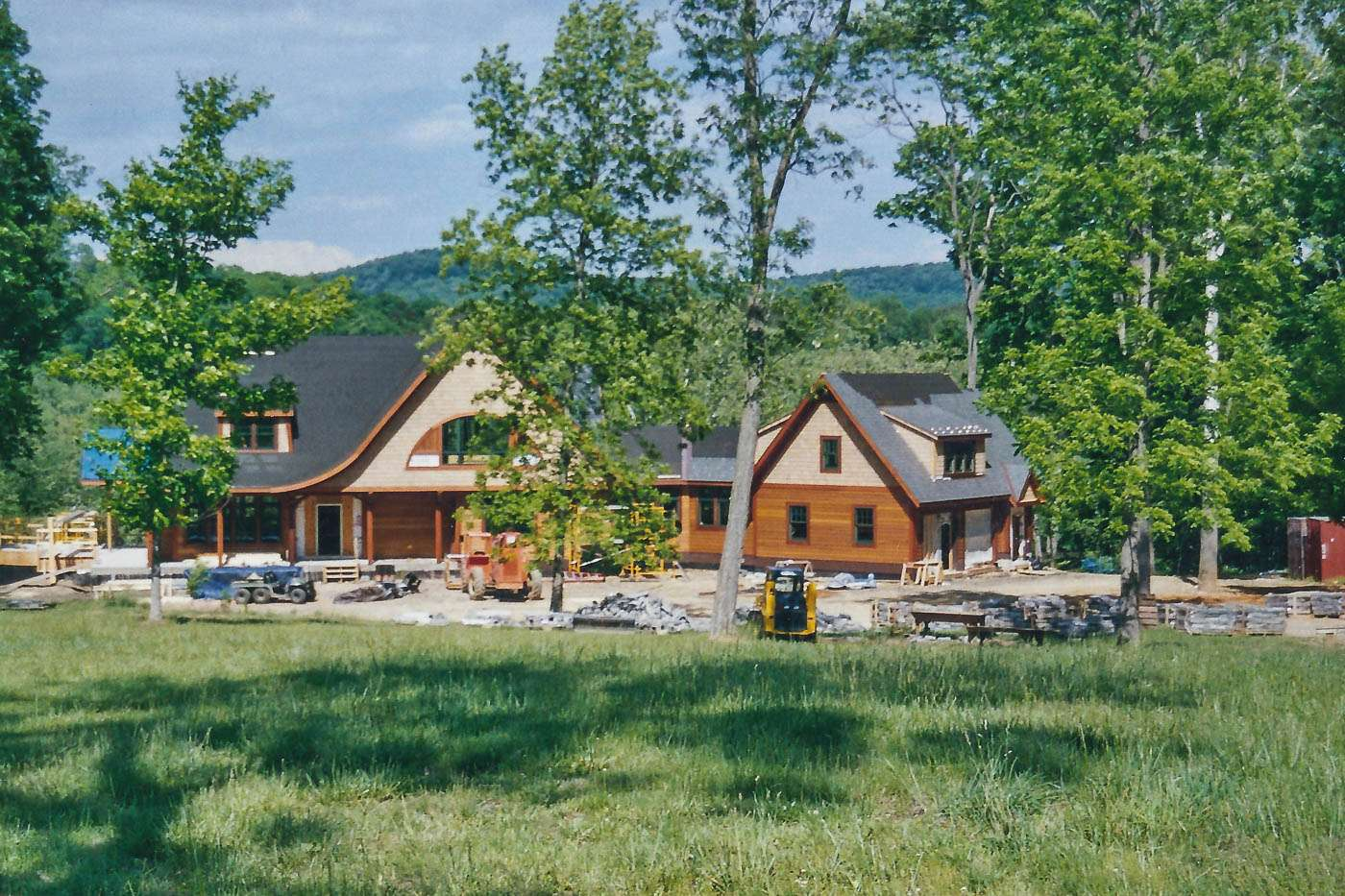 Potomac Lodge Construction 7
