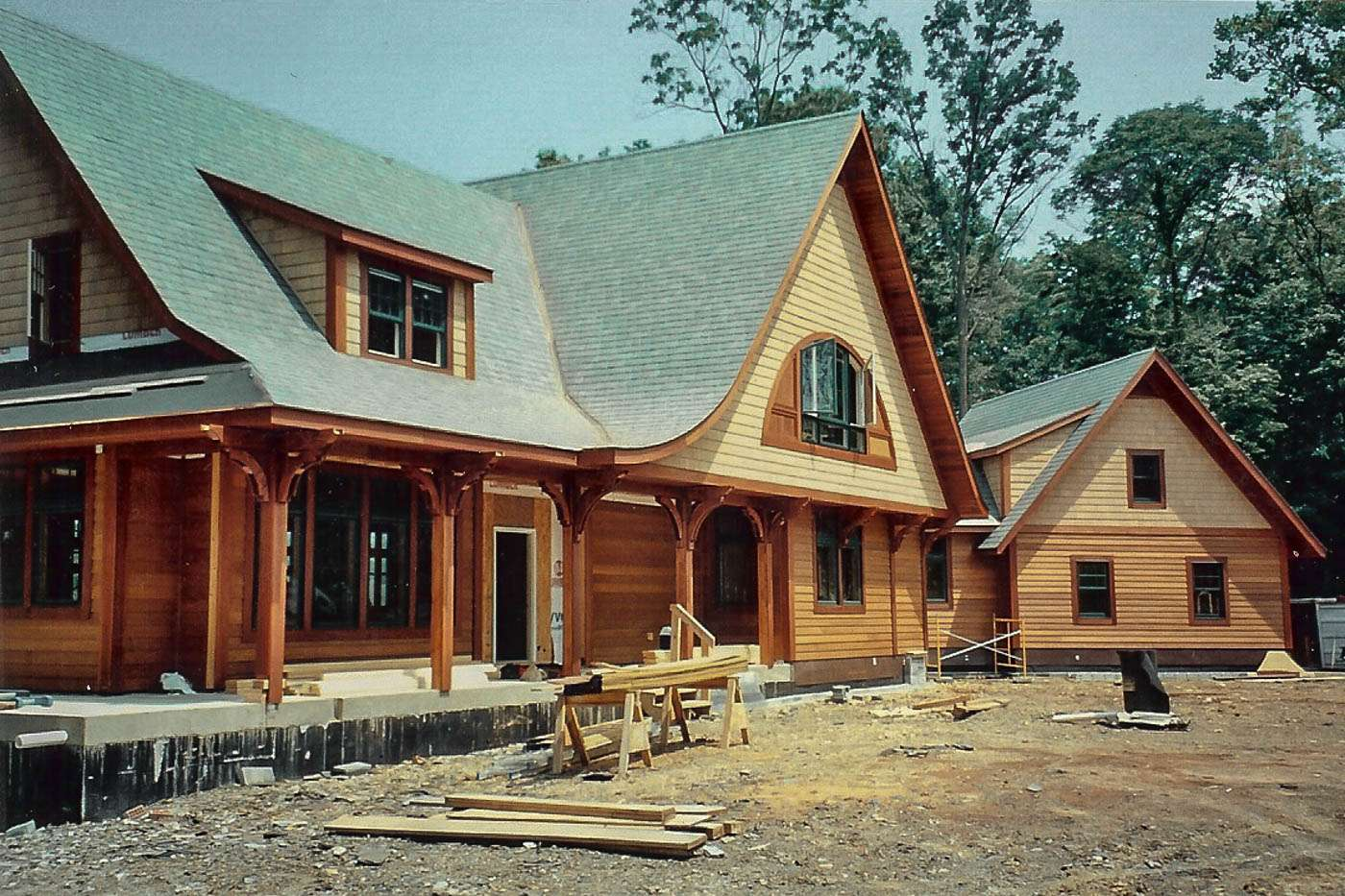 Potomac Lodge Construction 8