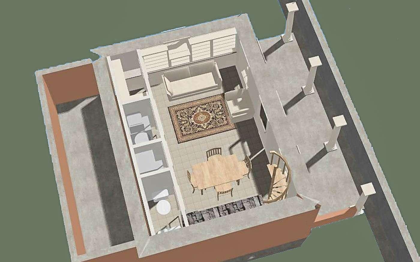 Bolivar Artist's Cottage Lower Level 1