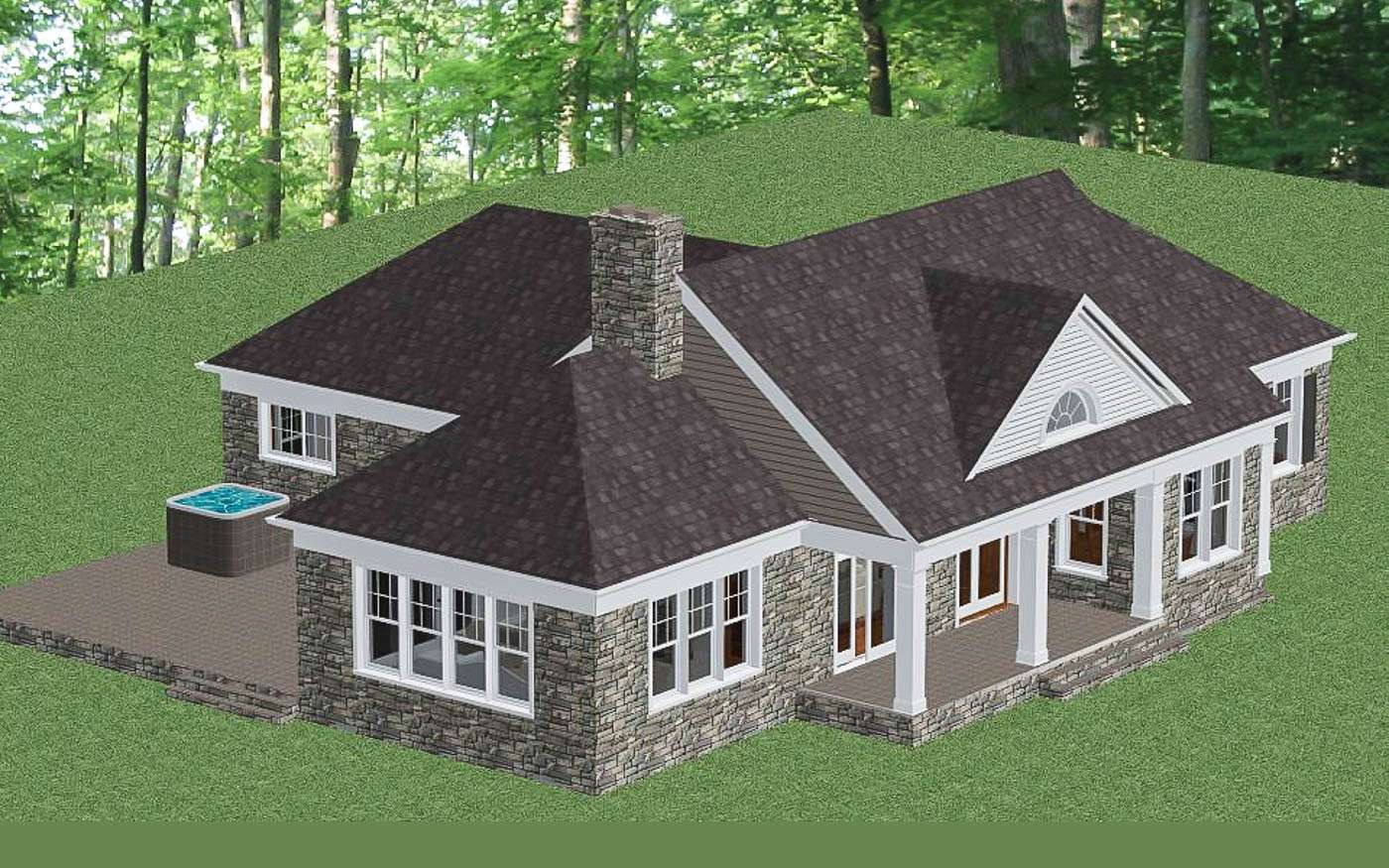 Shenandoah Stone Cottage Overview