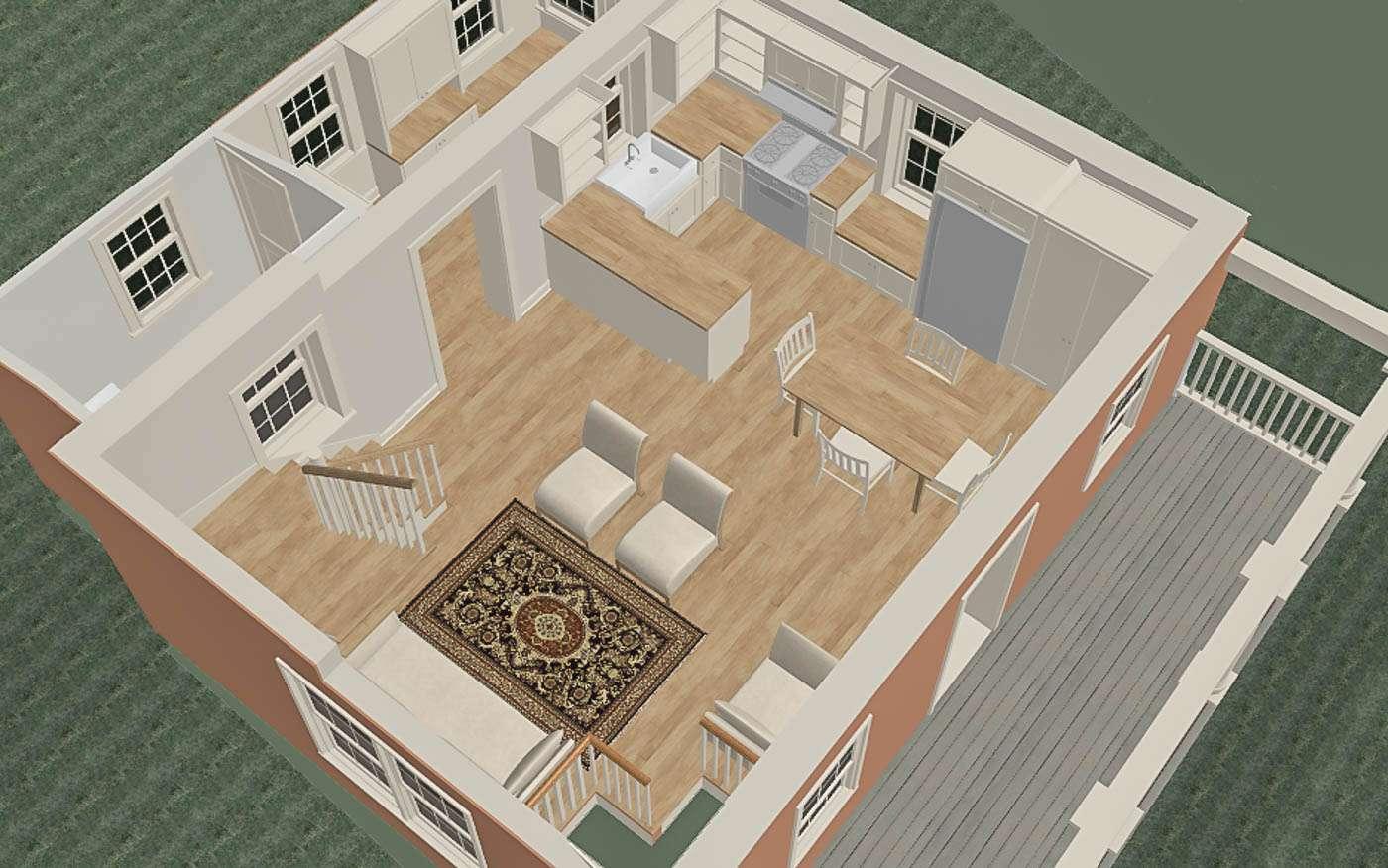 Bolivar Artist's Cottage Main Level 1