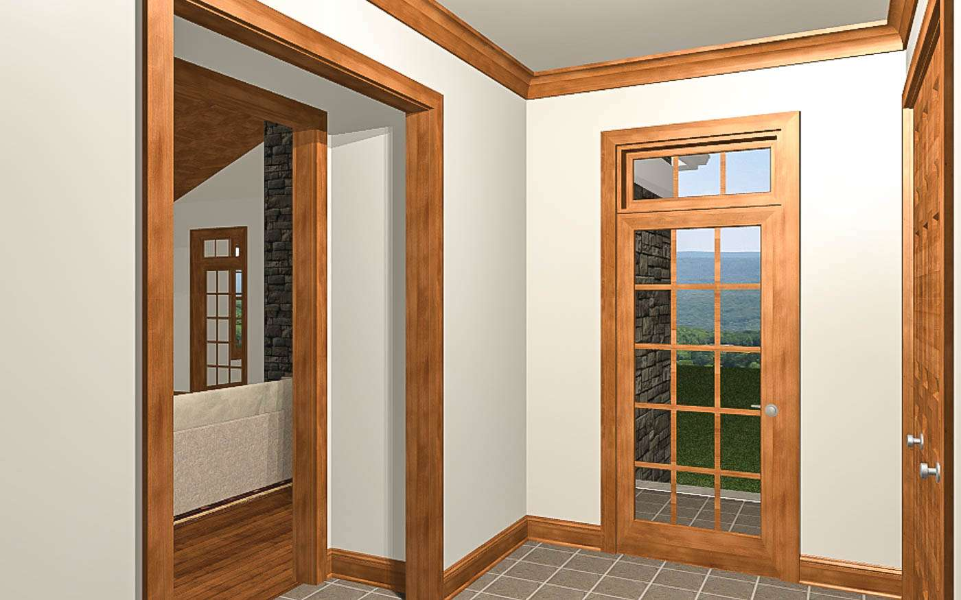 Shenandoah Stone Cottage Foyer