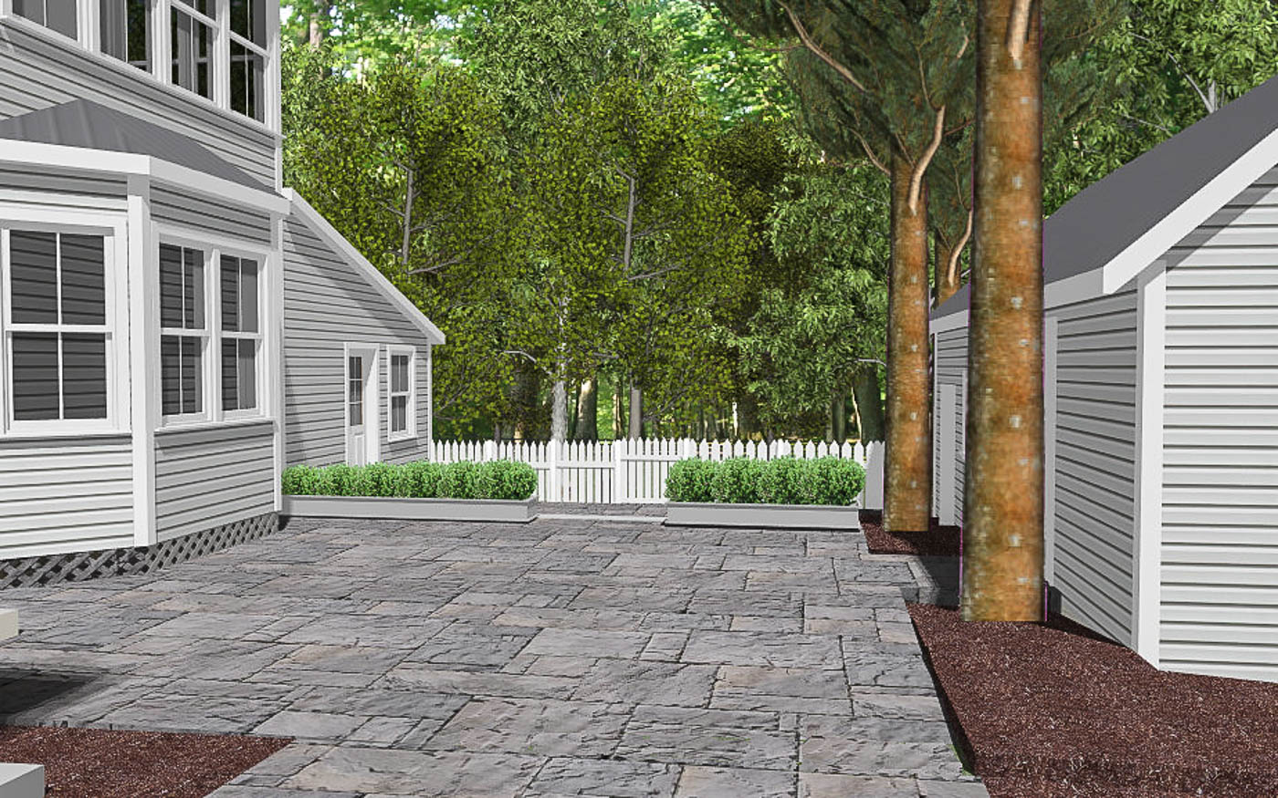 Warm Springs Courtyard