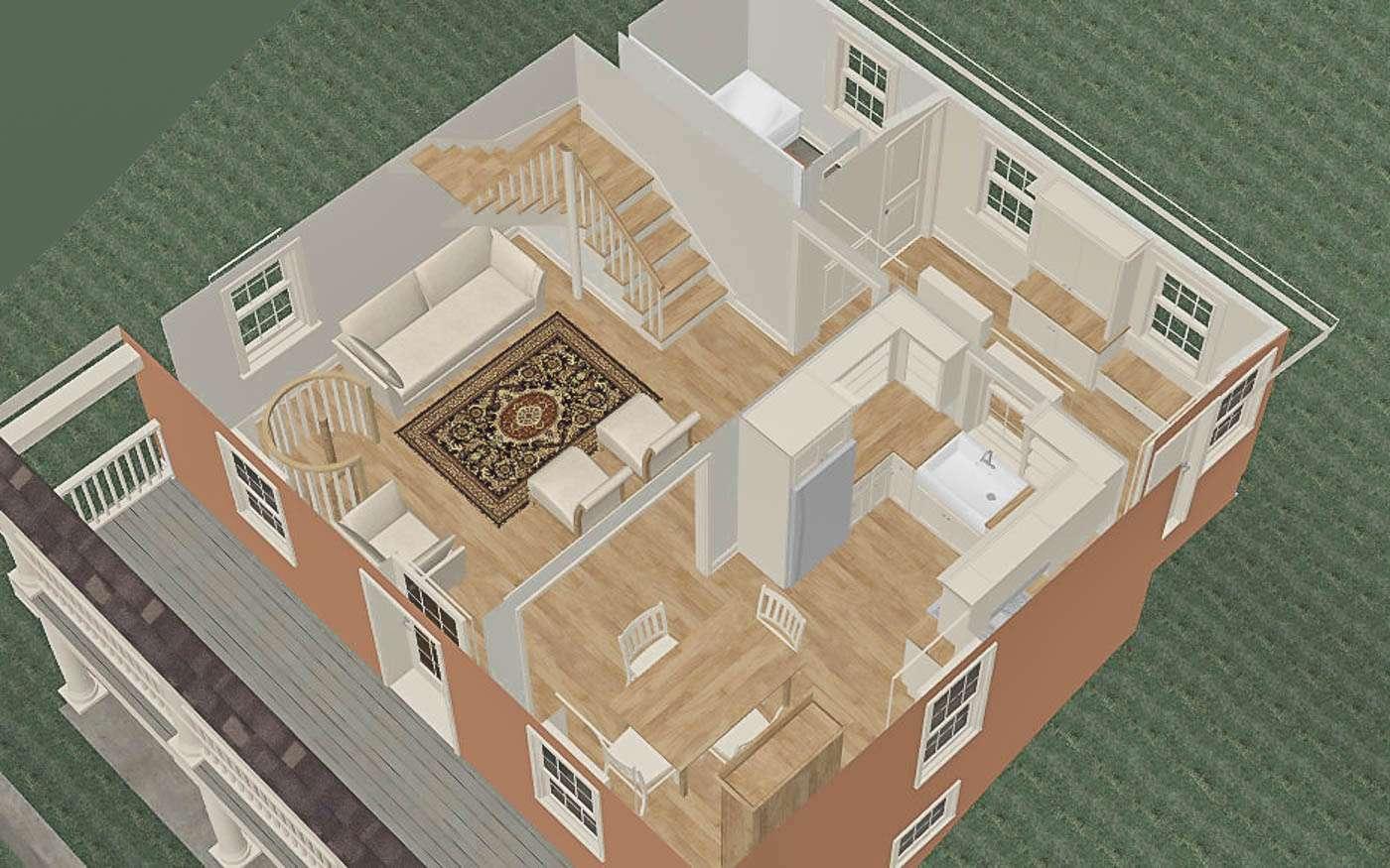 Bolivar Artist's Cottage Main Level 2