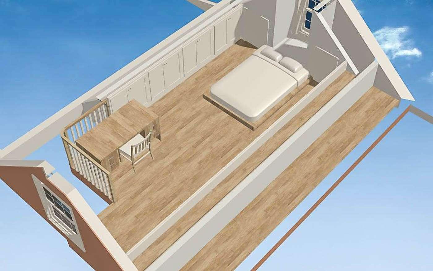 Bolivar Artist's Cottage Loft Level
