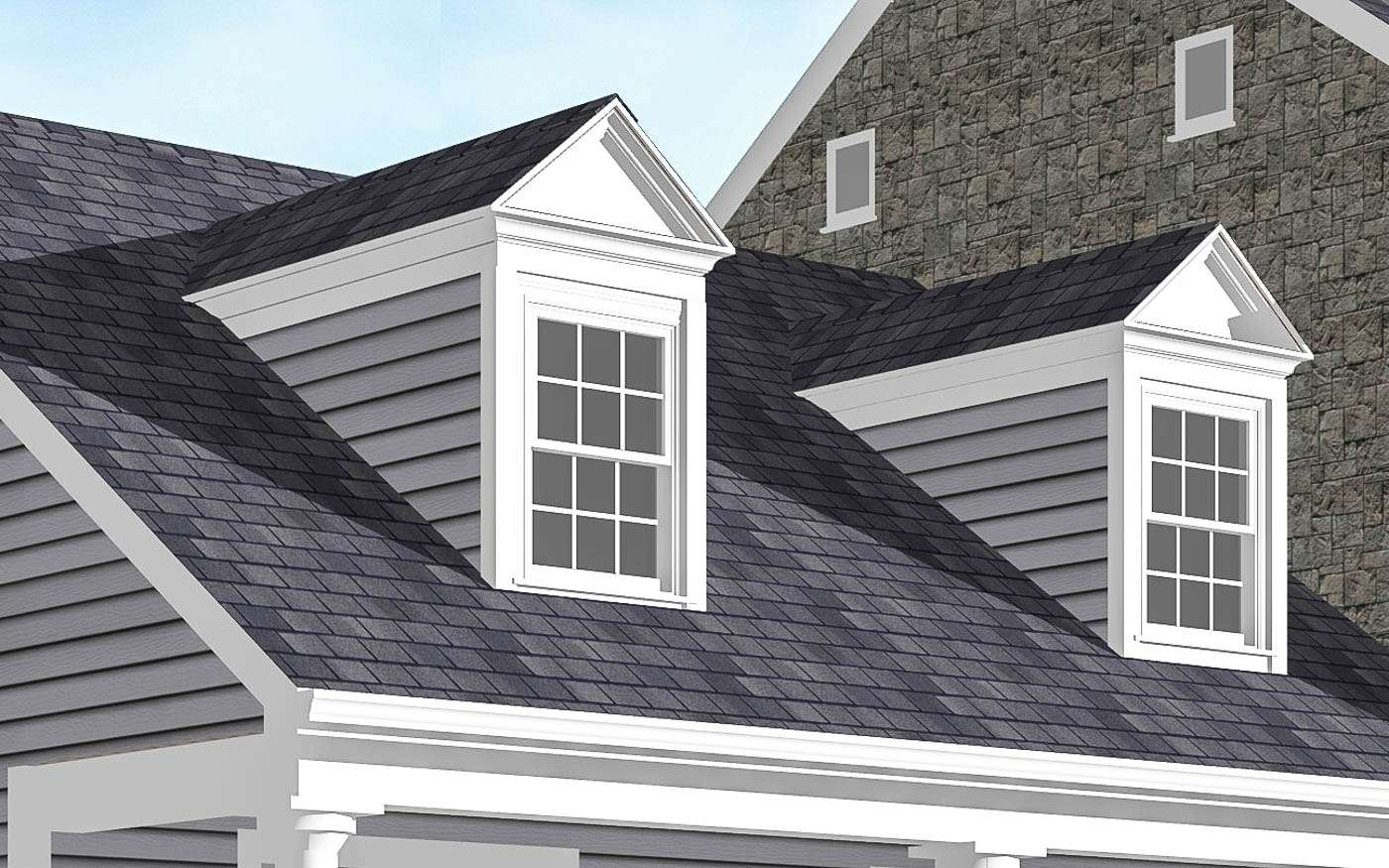 Engle Family Compound Dormers