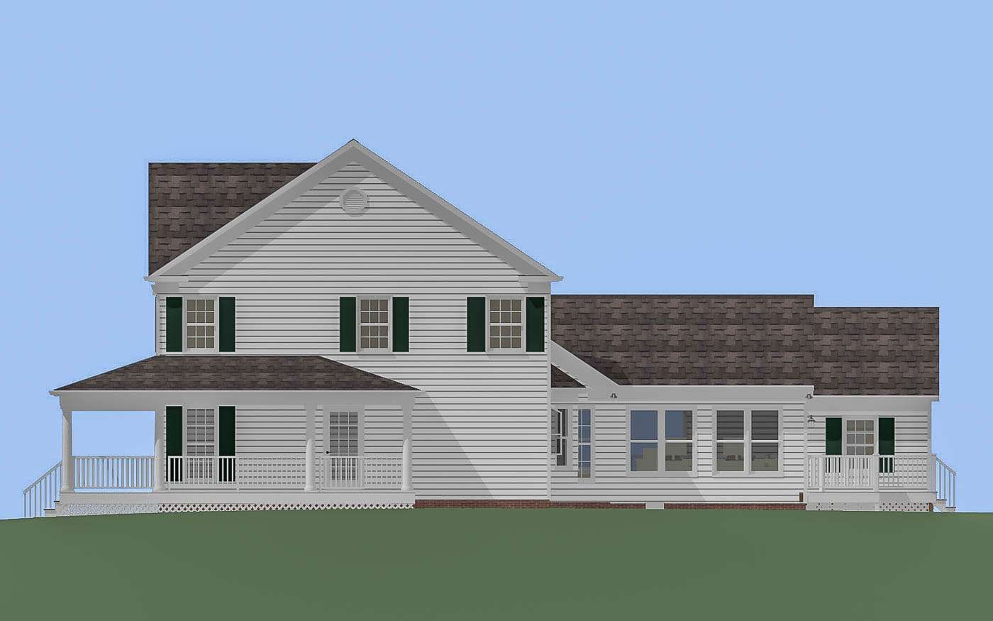 Willlowdale Home Office N Elevation