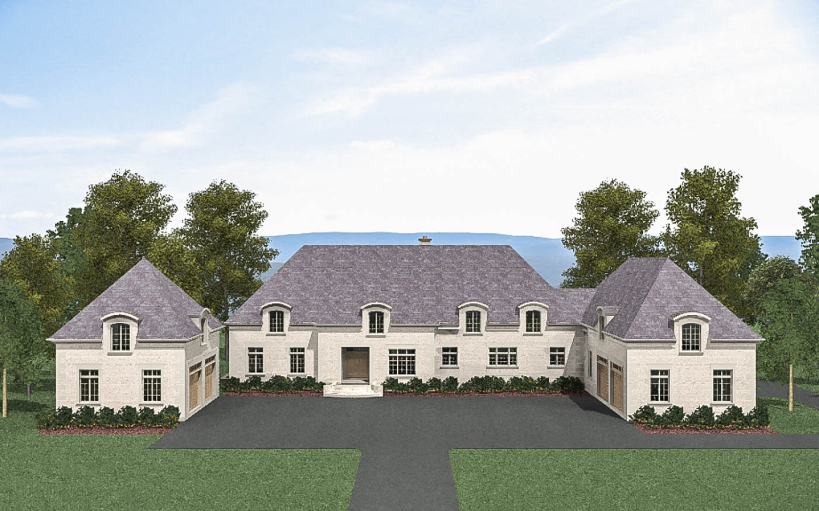 Green Hill Manor Version 1 Front