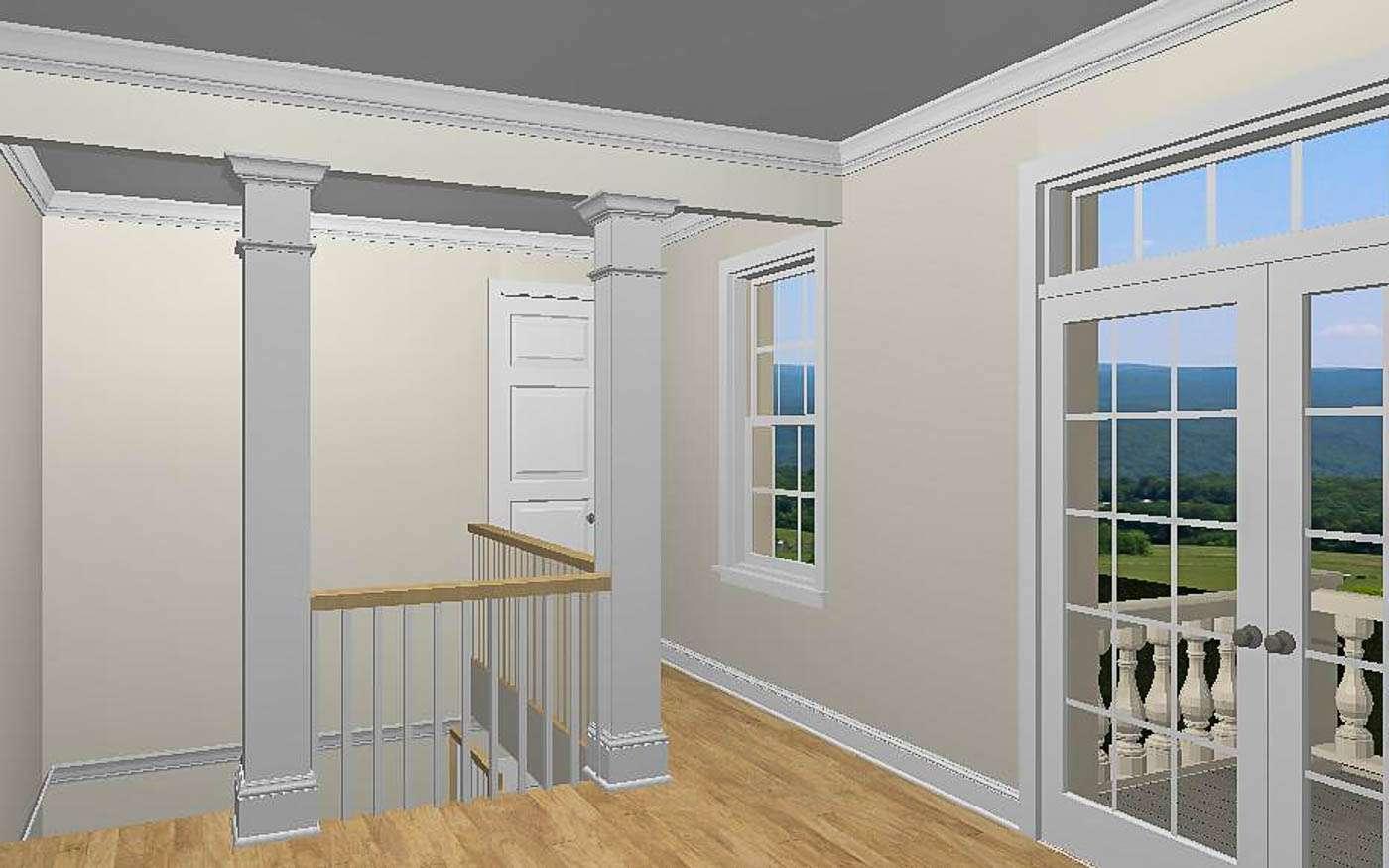 Green Hill Manor Mezzanine to Balcony